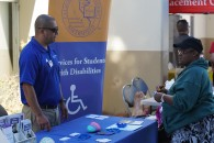 Disability Awareness CSUB booth