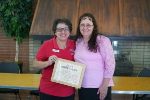 Disability Awareness Danita Belmore award recipient