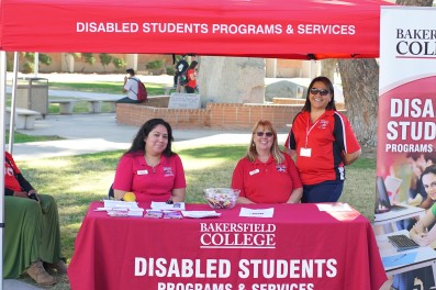 Disability Awareness DSPS booth
