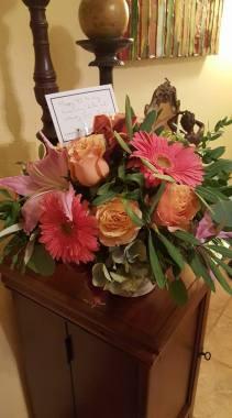 Flowers for vicki