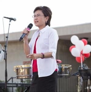 Karen Goh at Homecoming