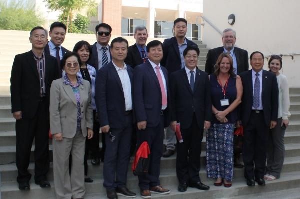 Korean Delegates Visit BC