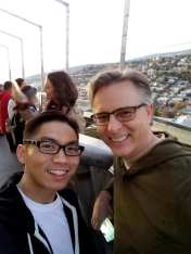 Mark Osea and Craig Hayward Space Needle Oct 27 2017