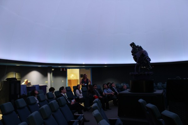 Planetarium with Korean Delegation