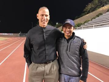 Stig Jantz and student Edward October 13 2017