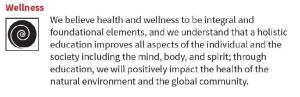 Wellness Core Value