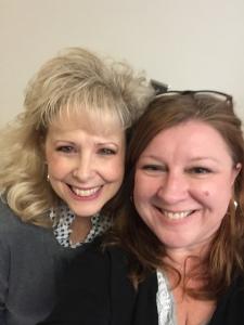 Wendy Lawson and Jennifer Serratt Oct 10 2017