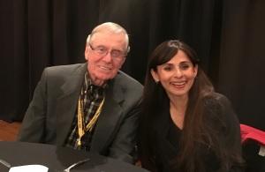 Dennis Mccall and Sonya Christian Taft College Nov 12 2017 cropped