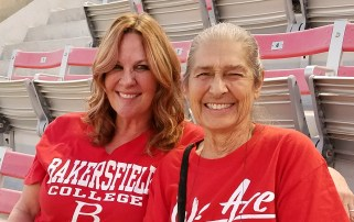 Football - Last Home Game - Kimberly Bligh and Jerry Ludeke