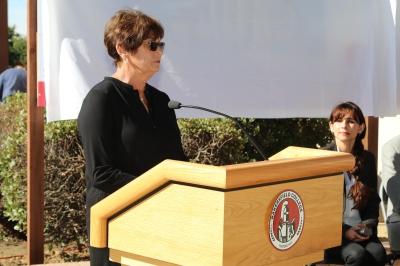 Kay Meek speaking at VRC