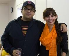 Lawrence Salcido, Sonya Christian
