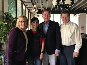 Liz Rozell, Sonya Christian, Wayne Kress, Richard Chapman Nov 3 2017