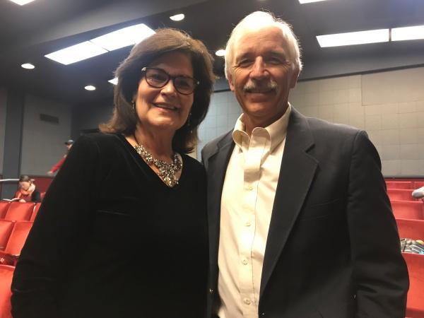 Steve Schultz与妻子于2017年11月9日