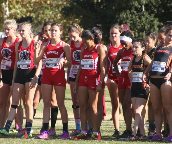 Women's Cross Country Nov 8 2017