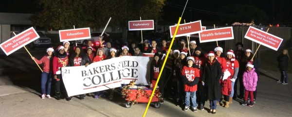 BC Group Picture at Shafter Christmas Parade