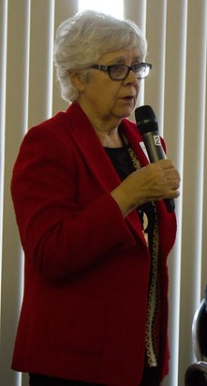 Mayor Kathy Prout
