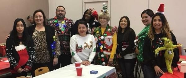 CTE Holiday Group Photo