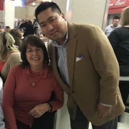 Cindy Collier and Romeo Agbalog