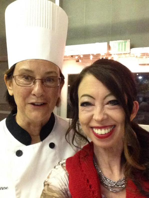 Chef Suzanne Durst and Dr. Jen Garrett