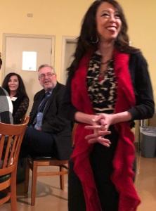 Jen Garrett at the Foundation Holiday Dinner Dec 7 2017