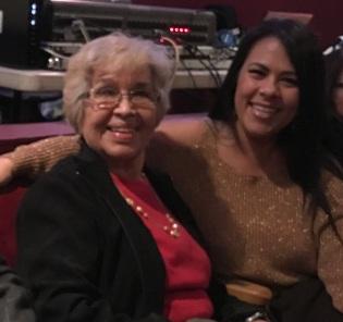 Lisa Kent and her mom