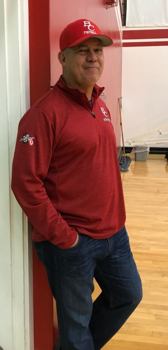 Todd Hansen Dec 9 2017 at Basketball Game