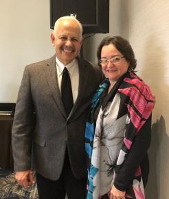 Raul Rodriguez and Mary Okada ACCJC Jan 12 2018