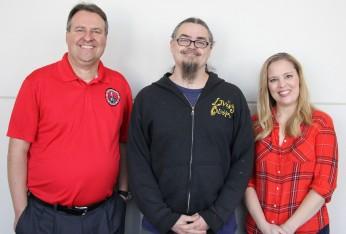 Tom Greenwood, Reggie Williams, and Anna Poetker