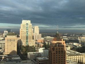 Sacramento morning of Jan 27 2018