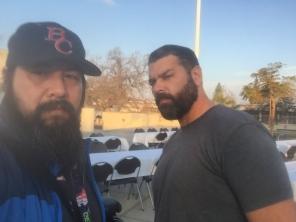 Selfie Eric Carillo和Manny de Los Santos 2018年1月11日