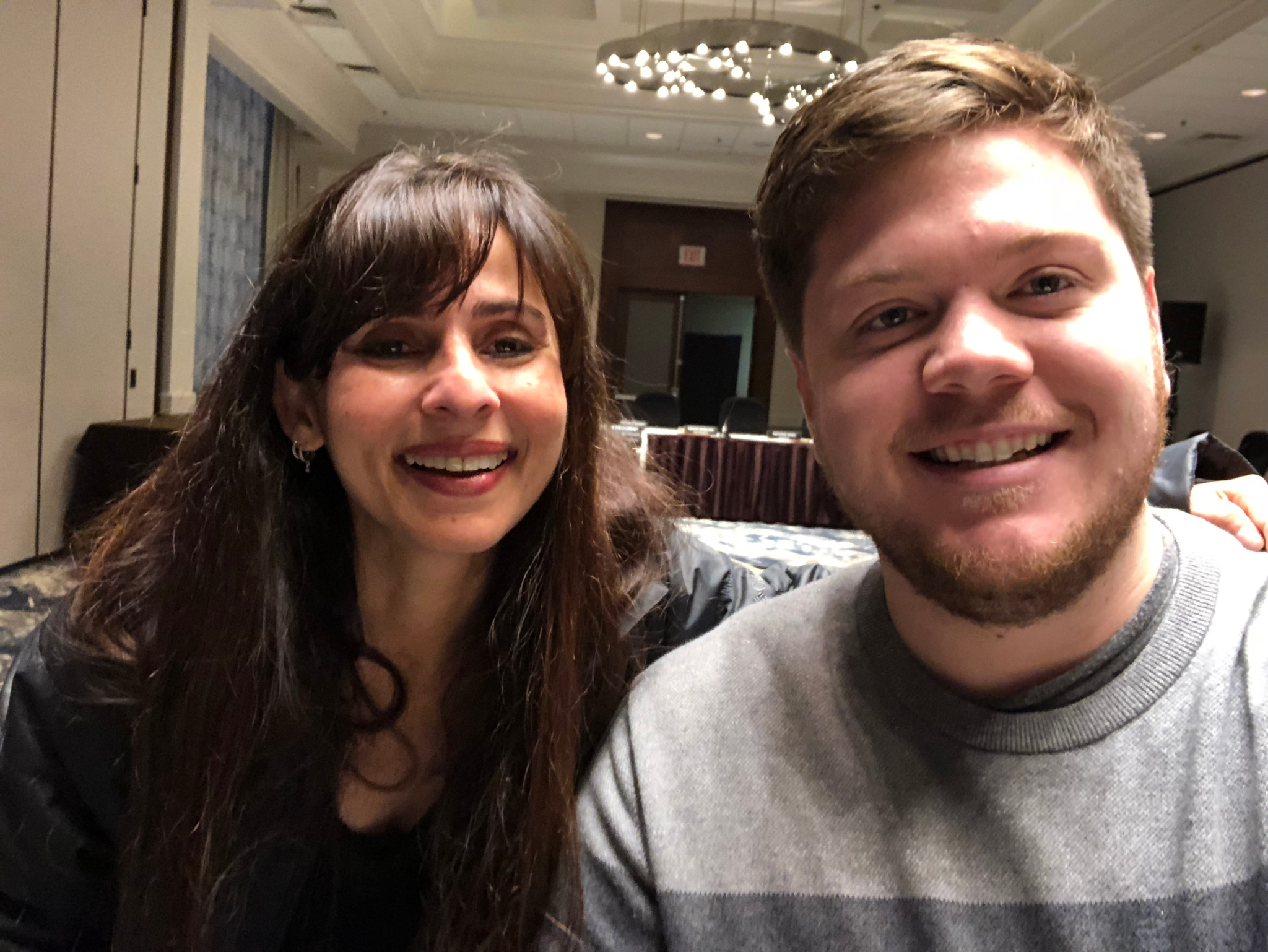 Sonya Christian and Jared Spring ACCJC Jan 12 2018