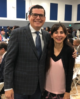 Rudy Salas, Sonya Christian