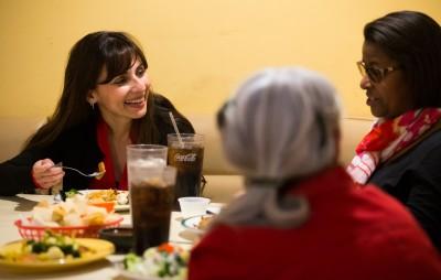 Sonya Christian, Jennifer Johnson, Nan Gomez-Heitzeberg at Don Perico
