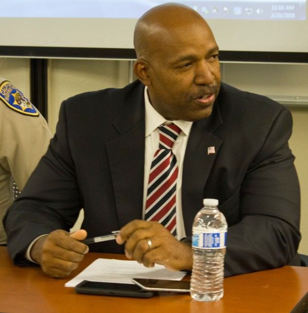 Bakersfield Police Department Chief Lyle Martin