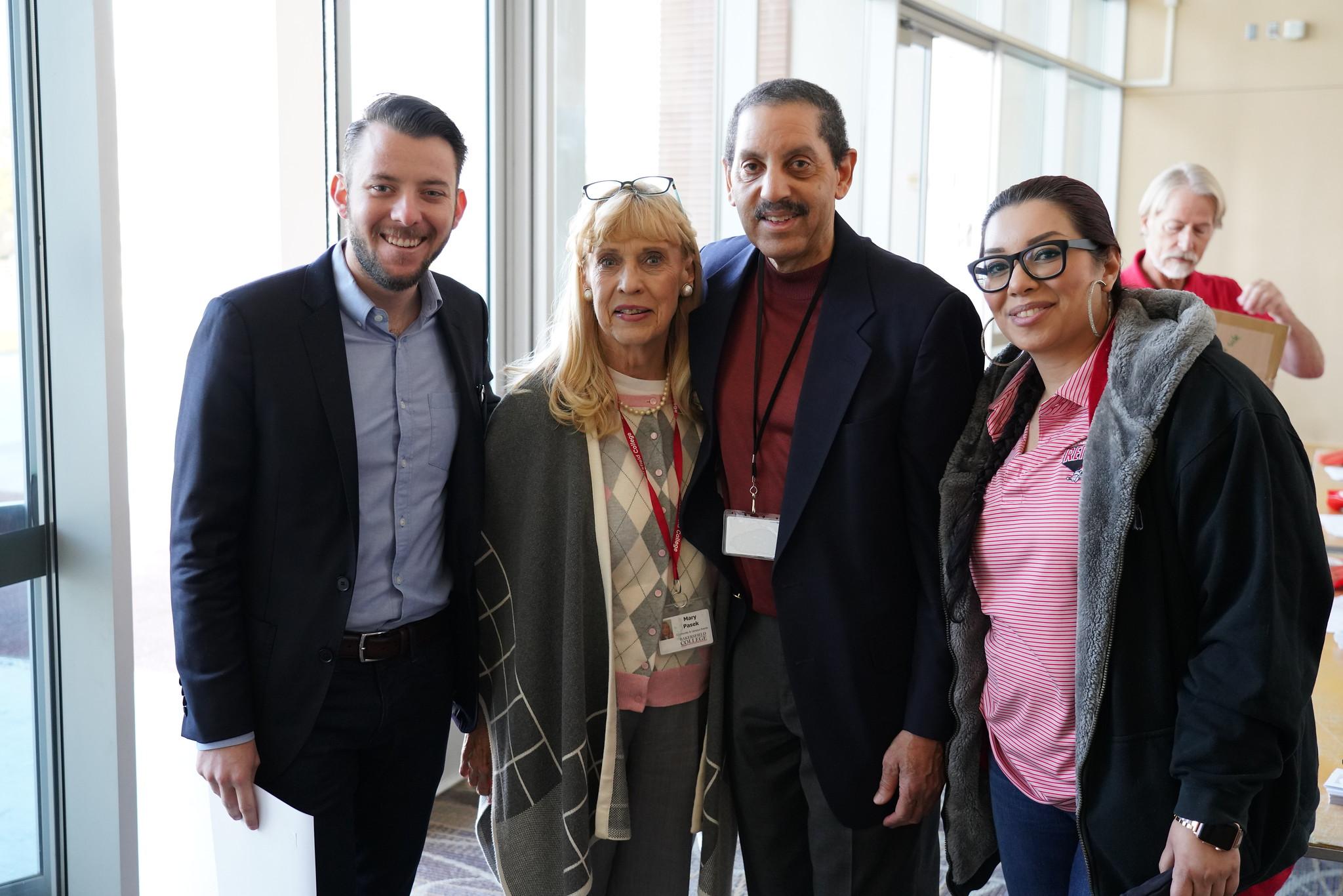 Tanner Dyrness, Mary Jo Pasek, Michael McClenic