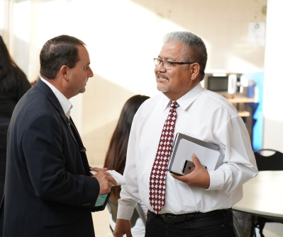 Jeff Rasmussen and Corny Rodriguez