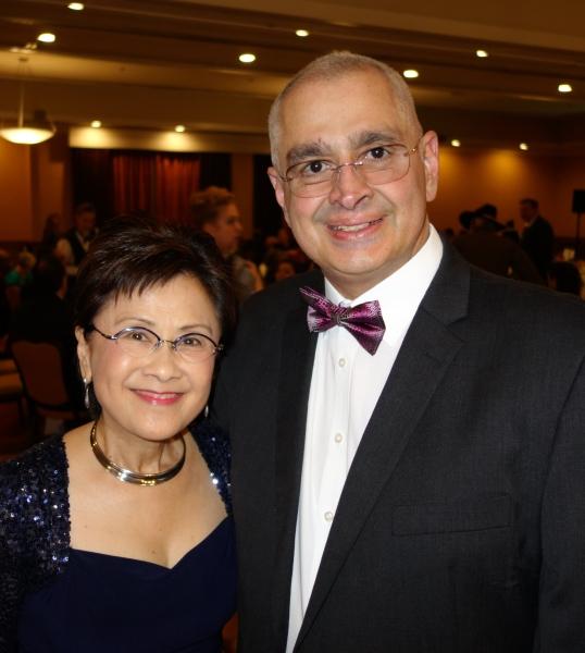 Mayor Karen Goh and Zav Dababhoy