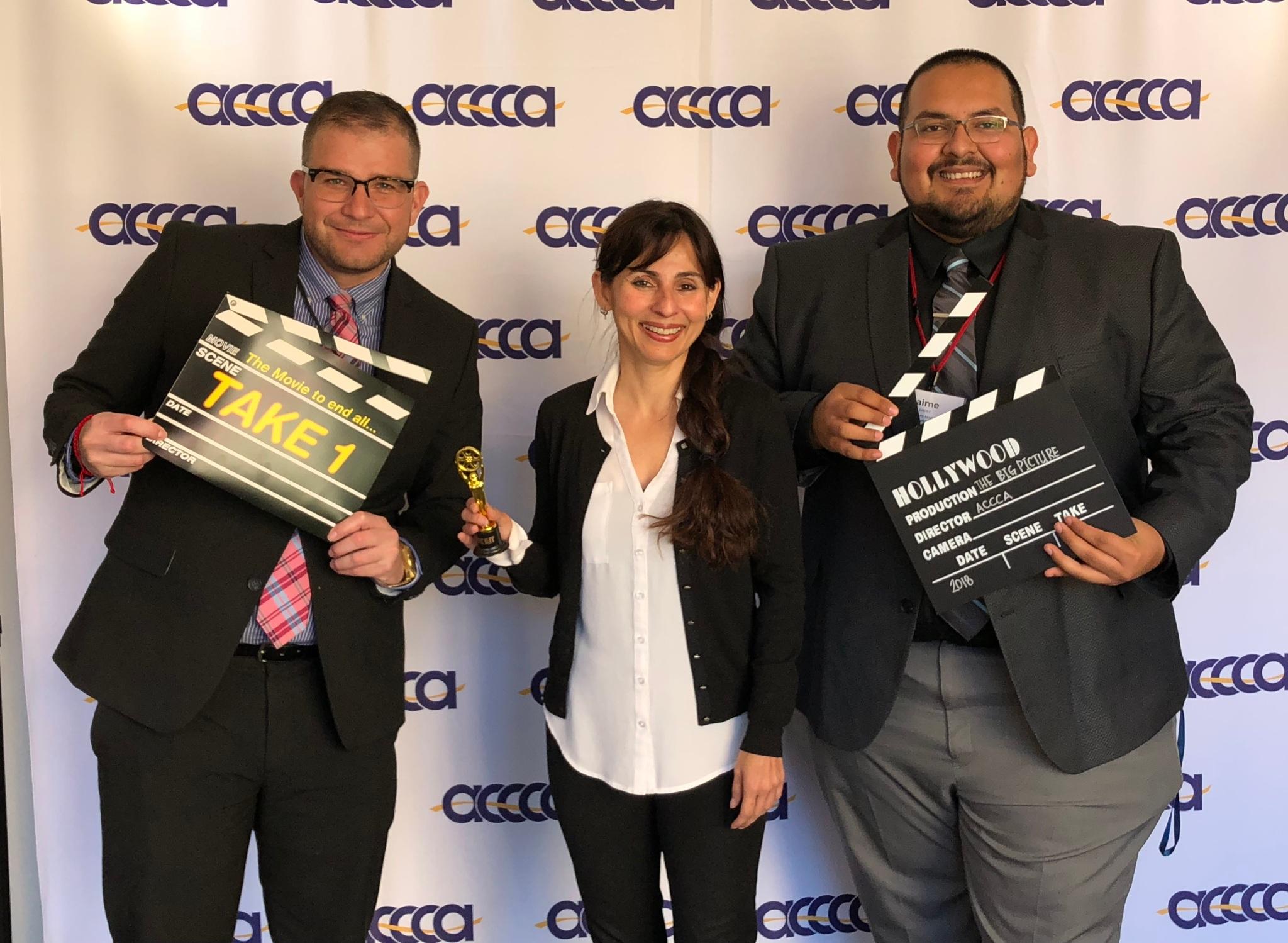 Gustavo Enrique, Sonya Christian, Jaime Lopez Feb 21 2018
