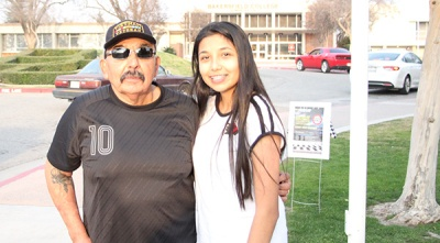 Luis_Ramirez with Daughter Artist Vanessa