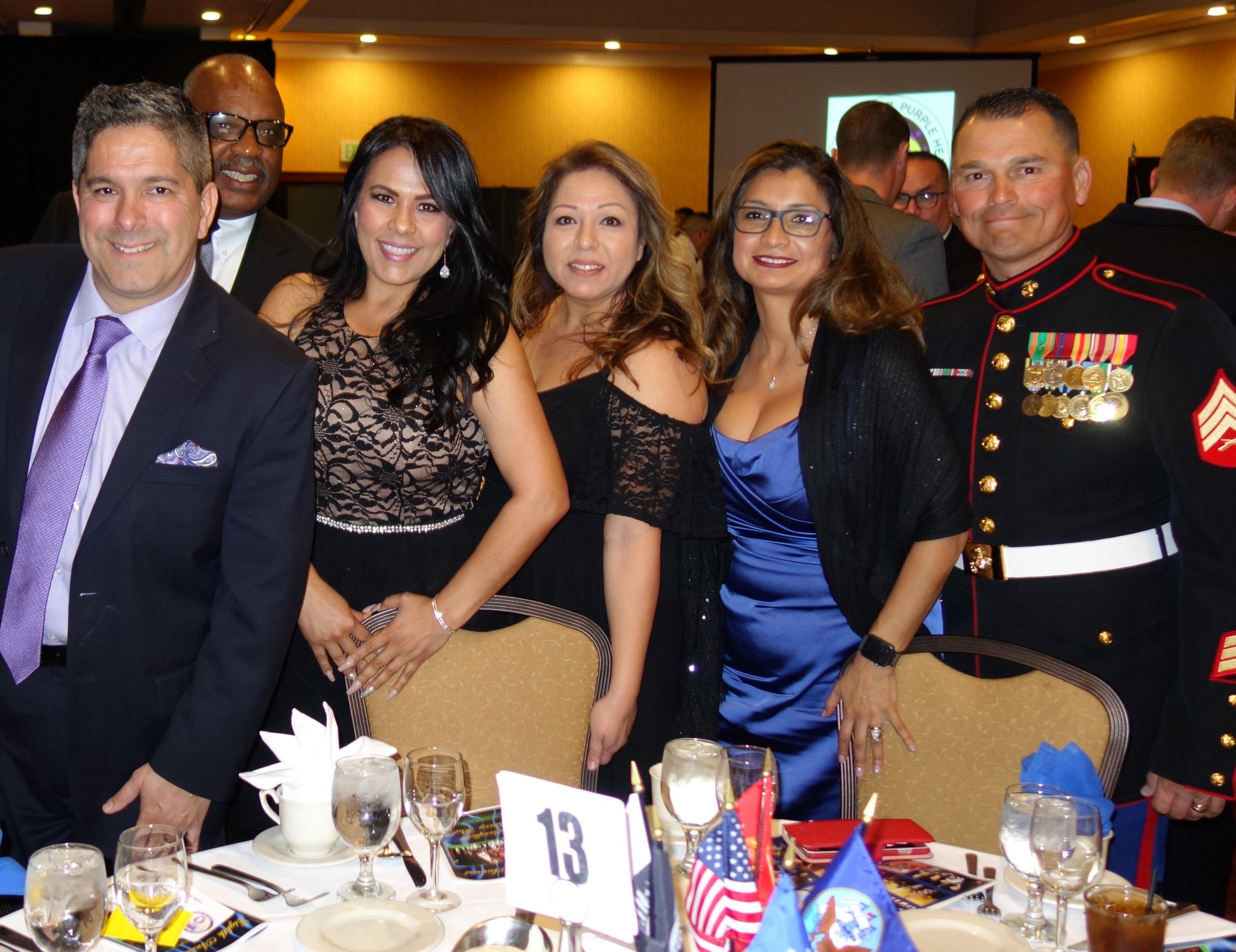 Paul Beckworth, Steve Watkins, Lisa Kent, Sandra Beckworth, Olivia Garcia, Sgt. Julio Garcia.