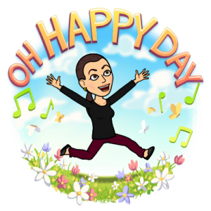 Sonya Christian Bitmoji Oh Happy Day