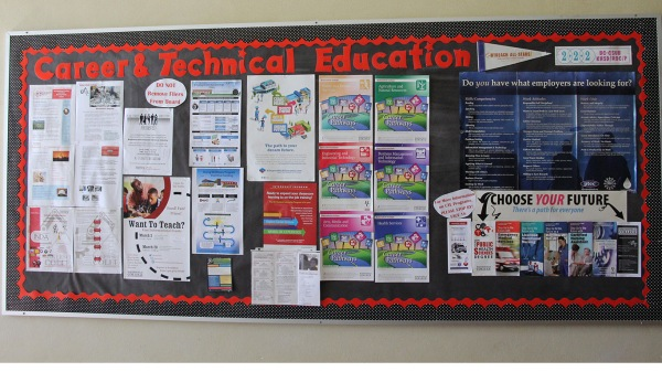 职业技术教育(CTE)愿景板