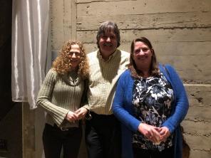 Deb Rosenthal, Steven Holmes, Meg Stidham