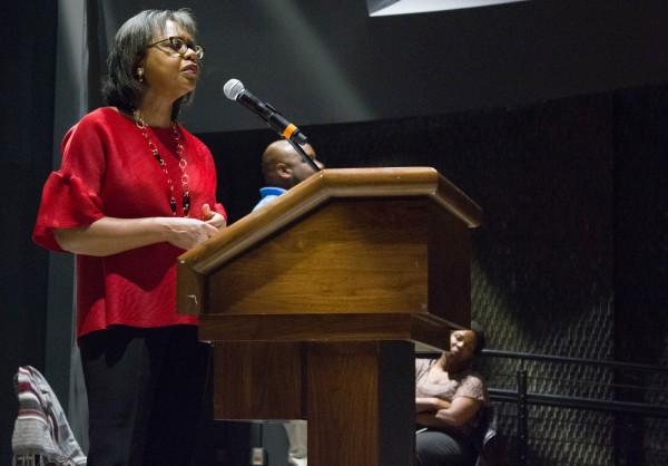 Anita Hill at BC