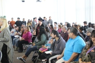 Large Audience tejon Tribe Kern County at BC-campus