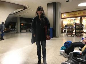 离开关岛机场2018年3月10日