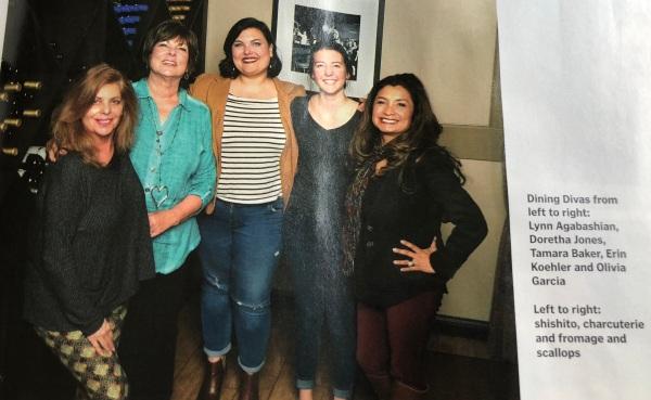 奥利维亚加西亚餐饮女星贝克斯菲尔德生活杂志2018年3月31日