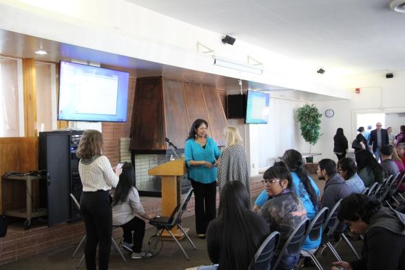 Sandra Hernandez of tejon tribe Kern County