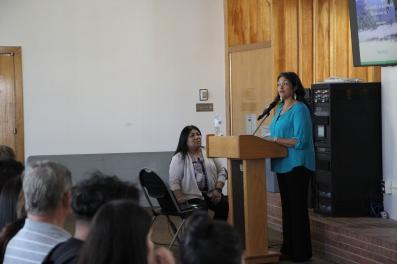 Tejon部落Kern County的Sandra Hernandez介绍