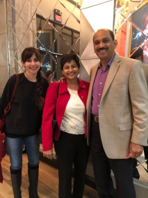 Sonya Christian, Arlene Braganza and Lauro Braganza